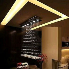 100cm Modern Design Raindrop Crystal Ceiling Light Pendant Lamp Chandelier