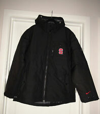 1beed67ef71a Men s Nike 441103 Stanford Cardinal Black Zip Up Jacket w  hood XL NWT Storm  Fit