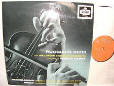 LXT 5334 Mendelssohn & Bruch Violin Concertos Ruggiero Ricci LSO Pierino Gamba