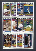 2004 Topps Atlanta Braves TEAM SET (39) w/ Traded MINT