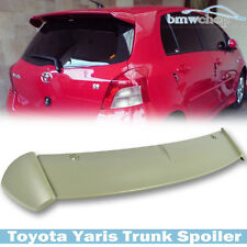 Painted for TOYOTA Yaris 2D / 4D S-Type Rear Trunk Spoiler Wing Boot XP90