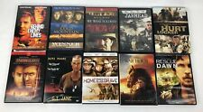 LOT OF 10 MILITARY & WAR  MOVIES DVDjarhead Hurt Locker War Horse Rescue Dawn +