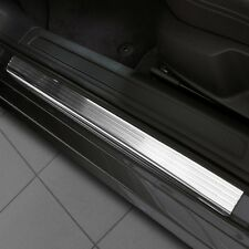 PEUGEOT 407 5D HATCHBACK since 2004 Car Door Sill Protector - steel + polyuretha