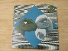 """Mikal Cronin / Wand – Less Artists More Condos Series #11 7"""" Blue/Clear Vinyl"""