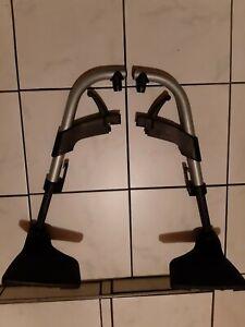 Fußstütze Set für Rollstuhl Rechts/Links  gebraucht!!!!!!!!!!