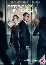 Person of Interest Complete Series 2 DVD All Episodes Second Season Original UK