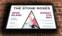 "Stone Roses - Spike Island Canvas Wall Art Picture Print 25""x16"" (63x40cm)"