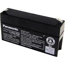 Panasonic 6V 1.3 ah SLA Sealed Lead Acid Back up UPS Battery LC-R061R3P
