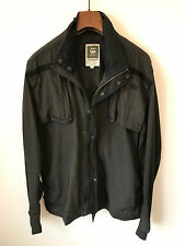 G-STAR RAW QUILTED JACKET/COAT! MENS M/L! BLACK! PUFFA! 40-42 CHEST! JEANS!
