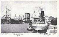 Yorkshire Postcard - Old Hull - Victoria Docks c1910 - Pamlin Prints  2290