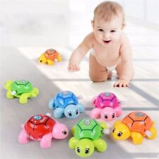 Plastic Turtles Tortoise Educational Toys Crawling Wind Up Toy For Baby Kids