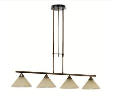 Eglo Madai 4-Light Bronze Hanging Pendant Kitchen Island Light 20956A