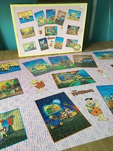 RARE Vintage 1996 Hanna Barbera The Flintstones 1500 Piece Jigsaw Complete Retro