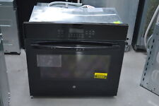 "Ge Jt5000Dfbb 30"" Black Single Electric Wall Oven Nob #25063 Hrt"