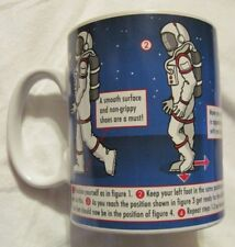 Teach Yourself The Moonwalk Instructional Dance Moves Ceramic Coffee Mug Euc