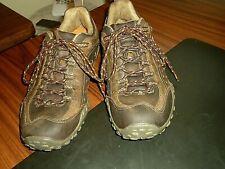 Merrell Mens Intercept J75117 Urban Dark Brown Leather Hiking/Trail Shoes, 9 M.