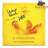 David Crowder signed CD Cover JSA COA A Collision Inscribed Sketch Z476