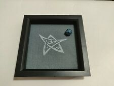 Elder Sign Dice Tray - Grey and White Square Wooden - D&D Dice Tray - Lovecraft