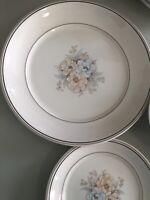 4 Pc Noritake Keltcraft Julie Ireland Soup Cereal Bowl Chop Platter Salad Plate