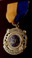 MEDAL OF LIFESAVING State of New York NY Award police/sheriff/fire/EMS