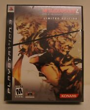 New! Metal Gear Solid 4: Guns of the Patriots [Limited Edition] (PlayStation 3)