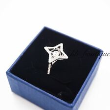 NIB Swarovski 5349666 Sparkling Dance Ring Crystal Clear White Rhodium Size 55
