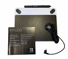Wacom Intuos Draw CTL490 Digital Drawing and Graphics Tablet - White W/ Pen