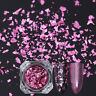 Born Pretty Nail Sequins Glitter Paillette Powder Dust Flakes Pink Irregular DIY