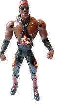 Booker T WWE Wrestling Wrestler Action Figure WCW ToyBiz Harlem Heat
