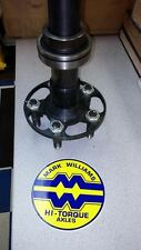 Mark Williams Hi Torque Superlite Axle 35 Spline gun drilled GM Superstuds ONE!