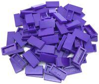 1 x 3 Brown Reddish Tile x 10-1x3 smooth flat tiler TILES NEW LEGO