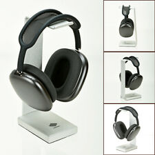 Solid Aluminum Metal Base Desktop Headphones Hanger Stand for AirPods Max Silver