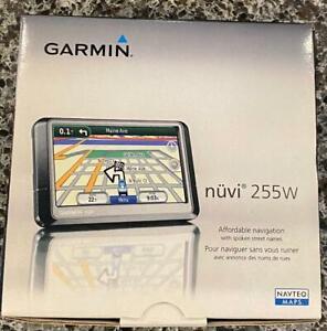 GARMIN Nuvi 255W GPS Navigator Black NICE