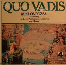 """QUO VADIS - MIKLOS ROZSA - ROYAL PHILARMONIQUE ORCHESTRA 12"""" LP (W 94)"""