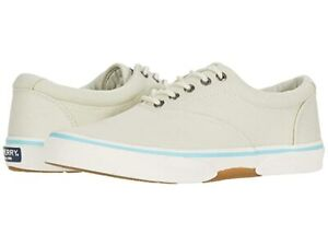 Men's Sperry Top-sider Halyard CVO Retro White  Sneakers Style: STS22357  US 16