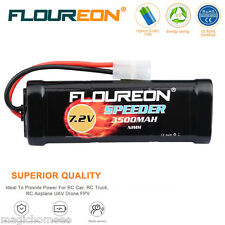 Floureon 7.2V 3500mAh Akku Flat Pack RC Truck Tamiya Stecker für RC Auto TOP