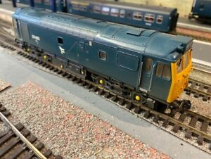 Bachmann Class 25 BR Blue DCC Fitted 32-412 25083 weathered
