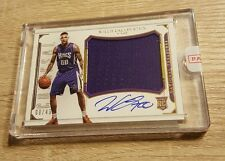 2016 National Treasures Willie Cauley-Stein Rookie Colossal Jersey Auto 9/49 RPA