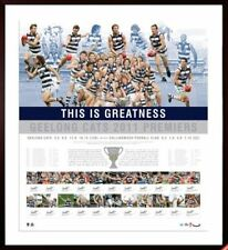 AFL GEELONG CATS 2011 PREMIERS  LIMITED EDITION TEAM SIGNED PRINT - FRAMED