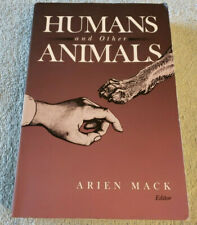 Humans and Other Animals; 1999; Studies of Animals as Part of Human Culture