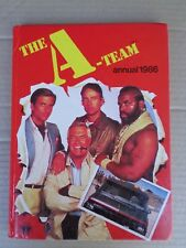 BOOK ANNUAL THE A TEAM 1986 VINTAGE COLLECTIBLE PRINTED IN ITALY GOOD USED