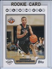 2008-09 TOPPS BASE RUSSELL WESTBROOK ROOKIE RC #199 OKC THUNDER UCLA CRAZY HOT