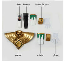 Mighty Morphin Power Dragon Ranger Cosplay Burai Shield Armor Gloves Accessories