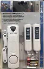 Unitec Raumalarm mit Magnetkontakt Fenster Tür Sicherung