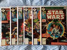 Star Wars (1977) 1,2,3,4,5,6, reprint. nice grades. cents