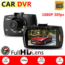HD LCD 1080P Car DVR Camera Video Recorder G-sensor Dash Cam Night Vision