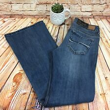 NEW Forever 21 XXI Womens 28 x 32 Jeans Flare Evase Premium Blue Denim Pants NWT
