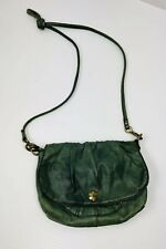 Vintage Lucky Brand Green Leather Shoulder Purse