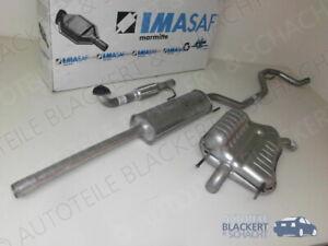 IMASAF Auspuffset ab Kat für Opel Vectra C +GTS 2.2 16V 2002-2003 | Flex+MSD+ESD