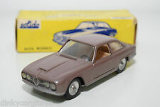 SOLIDO SERIE 100 125 ALFA ROMEO 2600 MET. LIGHT BROWN MINT BOXED RARE SELTEN